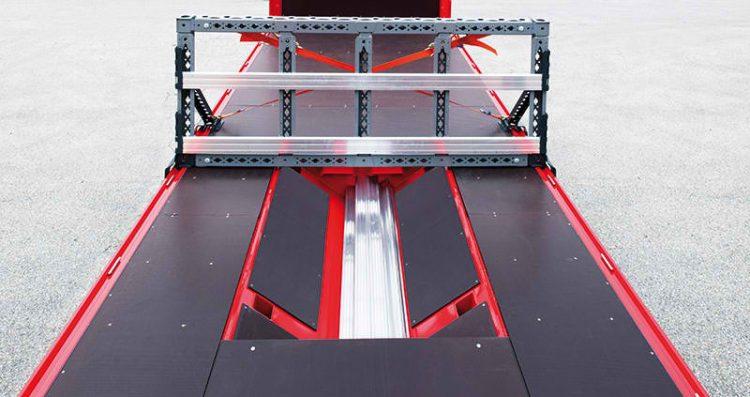 2 Semiremorca platforma BERGERecotrail cu coil ( LTCnP)